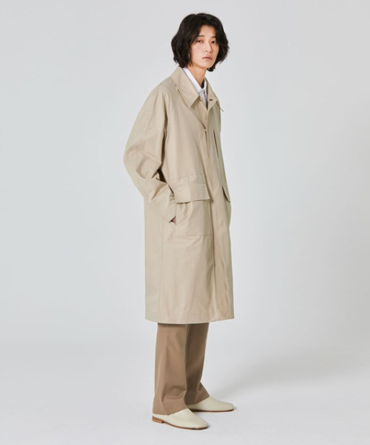 [밈더워드로브] BASIC Balmaccan Coat Beige *takeastreet limited*