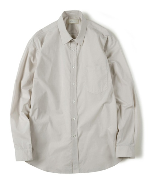 [셔터] HIGH DENSITY STANDARD SHIRT light beige
