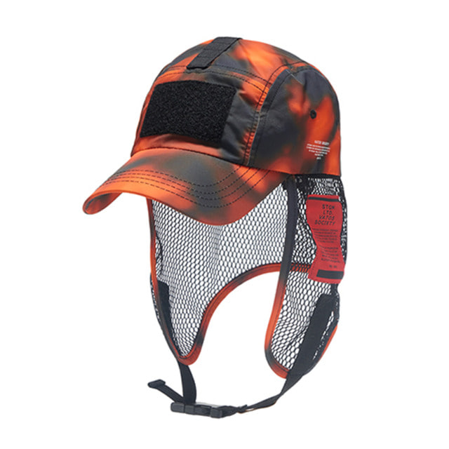 [스티그마]STIGMA VSC FISHING CAP ORANGE PATTERN