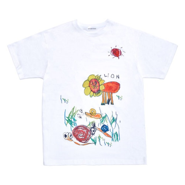[현도배] HYUNDOBAE Sketchbook tee WHITE