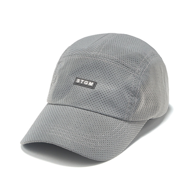 [스티그마]STIGMA REFLECTIVE PUNCHED RUBBER CAMP CAP GREY