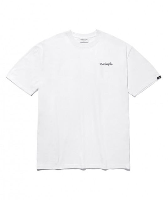 [마크곤잘레스] M/G SMALL SIGN LOGO T-SHIRTS WHITE