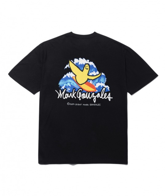 [마크곤잘레스] M/G SURFING ANGEL T-SHIRTS BLACK