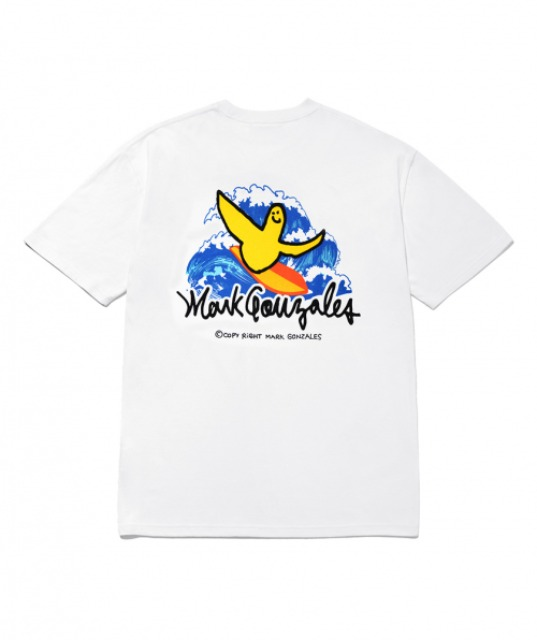 [마크곤잘레스] M/G SURFING ANGEL T-SHIRTS WHITE