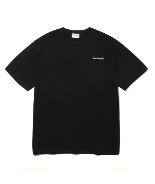 [마크곤잘레스] M/G SMALL SIGN LOGO T-SHIRTS BLACK
