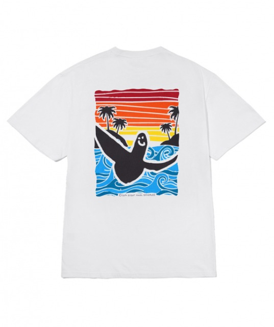 [마크곤잘레스] M/G WAVE ANGEL T-SHIRTS WHITE