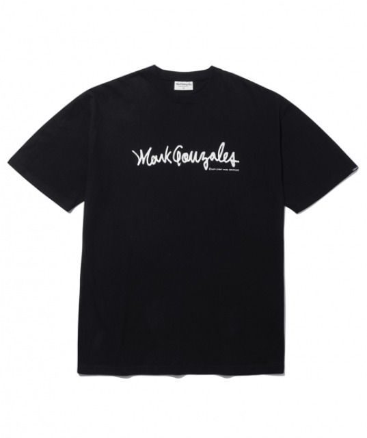 [마크곤잘레스] M/G SIGN LOGO T-SHIRTS BLACK