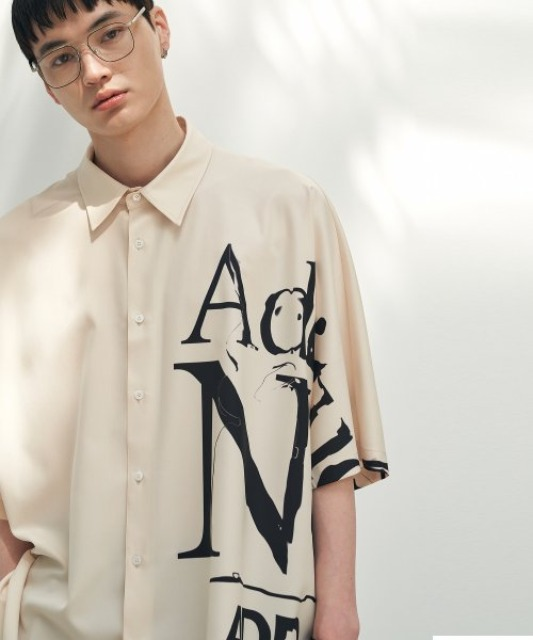 [에드] ADDITUDE No.1 AVANTGRADE SHIRT BEIGE [7/13 예약배송]