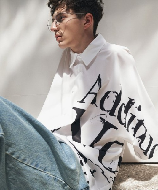 [에드] ADDITUDE No.1 AVANTGRADE SHIRT WHITE [7/13 예약배송]