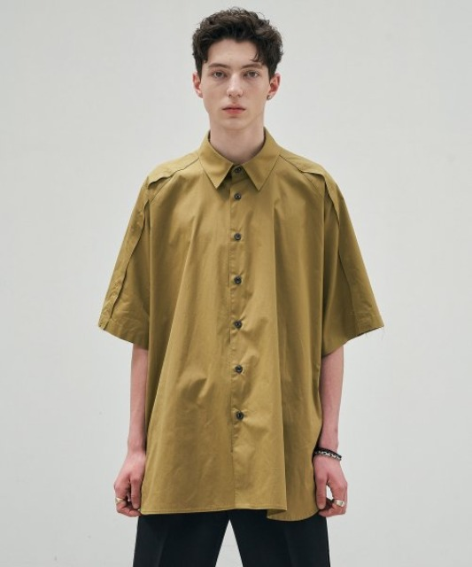 [에드] RAW EDGE AVANTGARDE SHIRT KHAKI