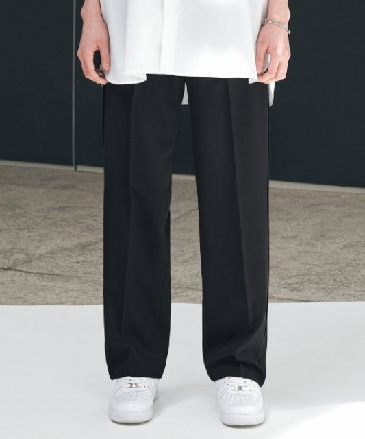 [에드] UGLY SUPER WIDE SLACKS BLACK
