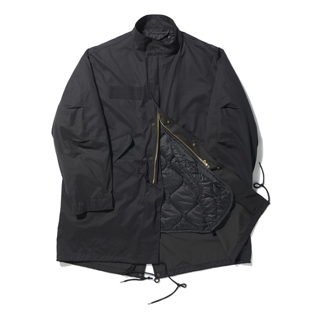 [노매뉴얼]M-65 PARKA JACKET - BLACK