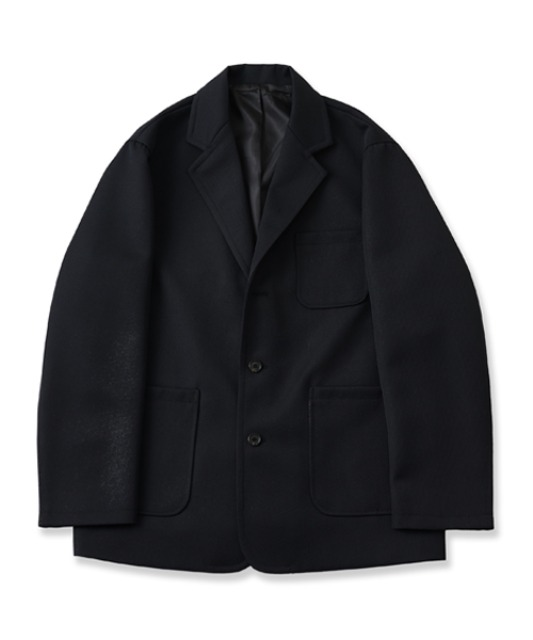 [퍼렌] casual formal jacket_black