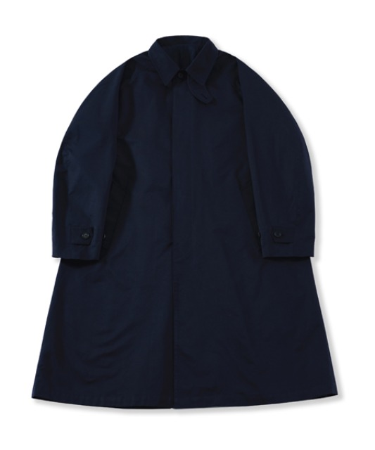 [퍼렌] balmacaan coat_navy