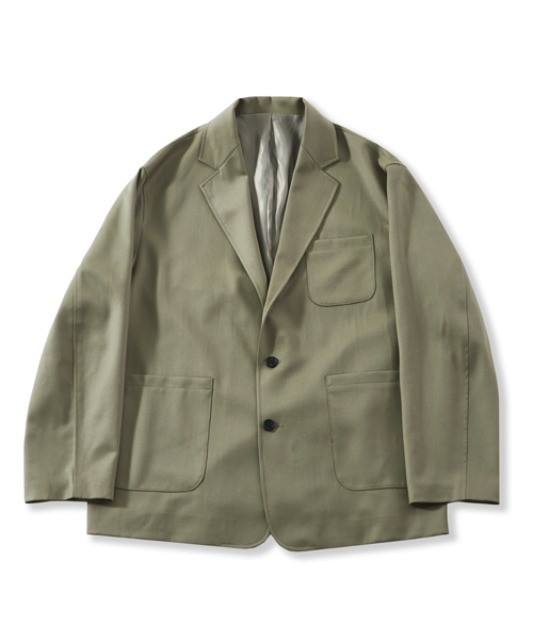[퍼렌] 21'SS casual wool jacket(set-up)_olive beige