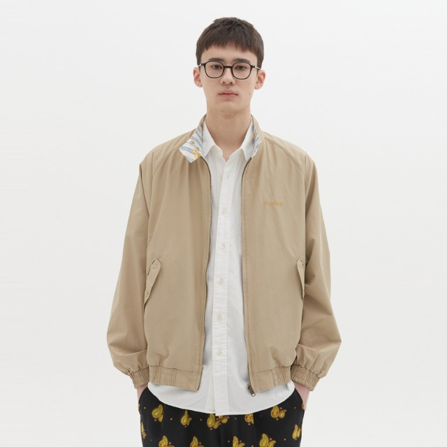 [위캔더스] REVERSIBLE GARDEN JACKET (BEIGE)