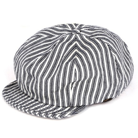 [스웰맙]Swellmob 8p garage work cap -beige stripe-
