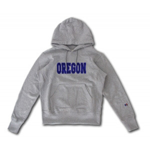 [코이그레이]OREGON PATCH HOOD (GREY)