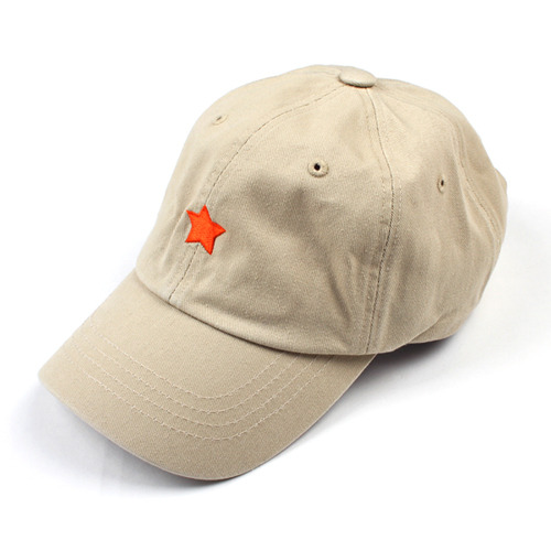 [마치위드]ONE STAR 6P CURVED BALL CAP Beige