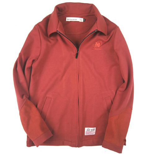 KNIT DROP BLOUSON JKT (SALMON)