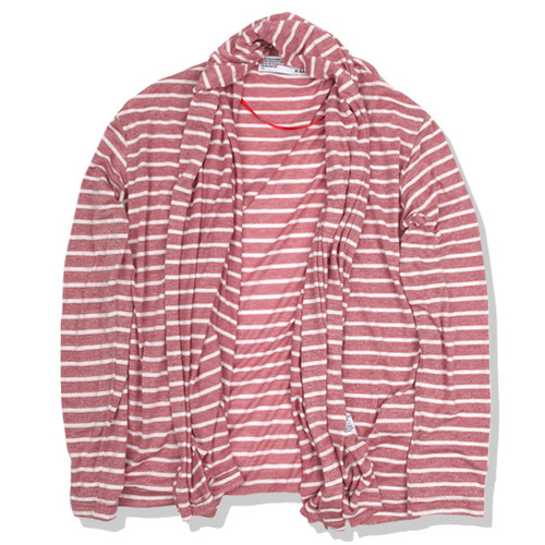 STOLE CARDIGAN heather red