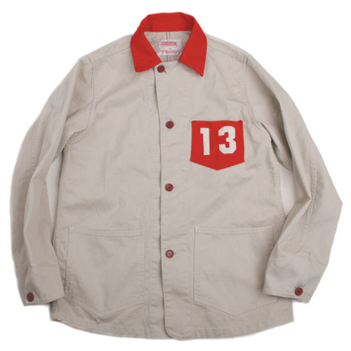 Swellmob engineer jacket -red-