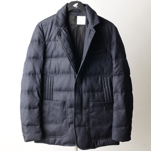 SAC down blazer -navy-