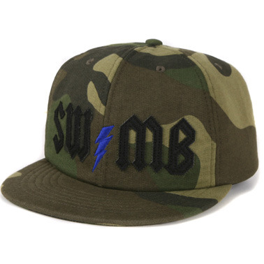 Swellmob sweat lightning cap -camo-