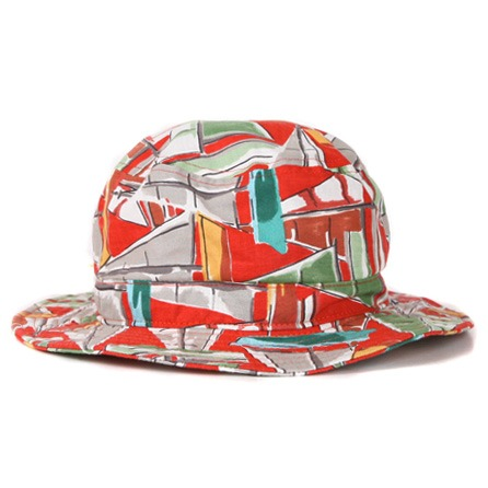 Swellmob orange yacht bucket hat