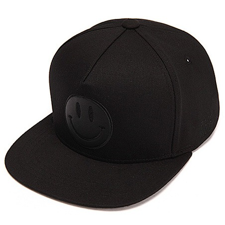 [피스메이커]BLACK HAPPINESS SNAPBACK (BLACK)